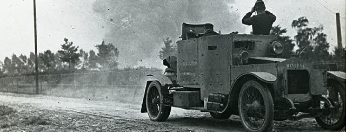 Belgische pantserwagen