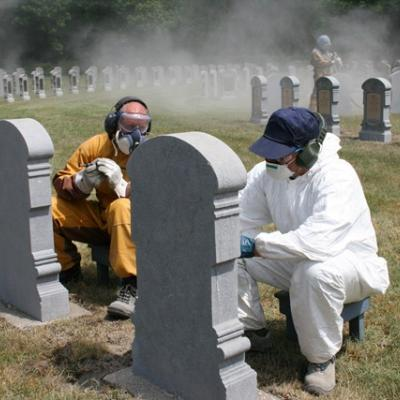 Maintenance of graves by Defence
