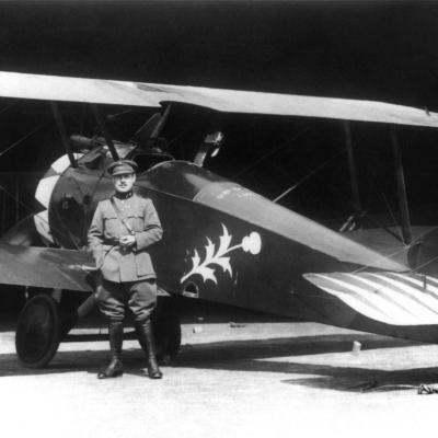 Sopwith F1 Camel, 1918.