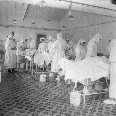 The operating room