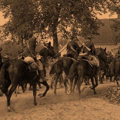 La cavalerie lors des premières journées de guerre