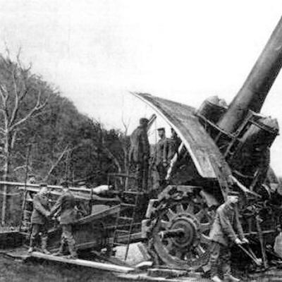 "Howitzer 42 cm ""Dicke Bertha"""