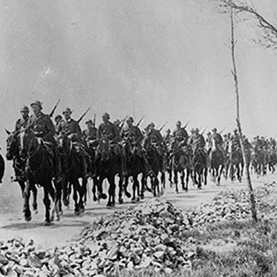 Cavalerie au front de l'Yser