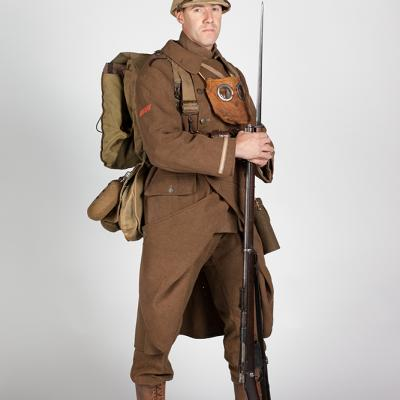 Uniform belgischen Soldat in 1918