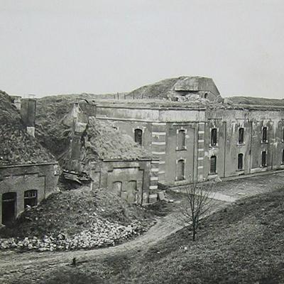 Vernield fort rond Antwerpen