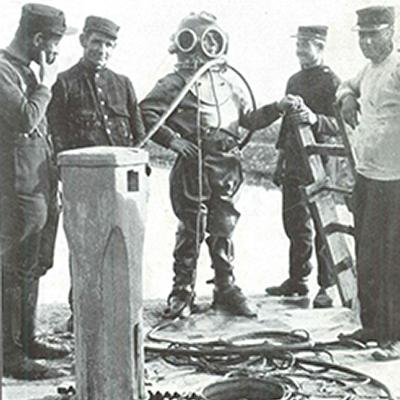 Duiker Van Der Vreecken, verdronken op 5/11/1916.