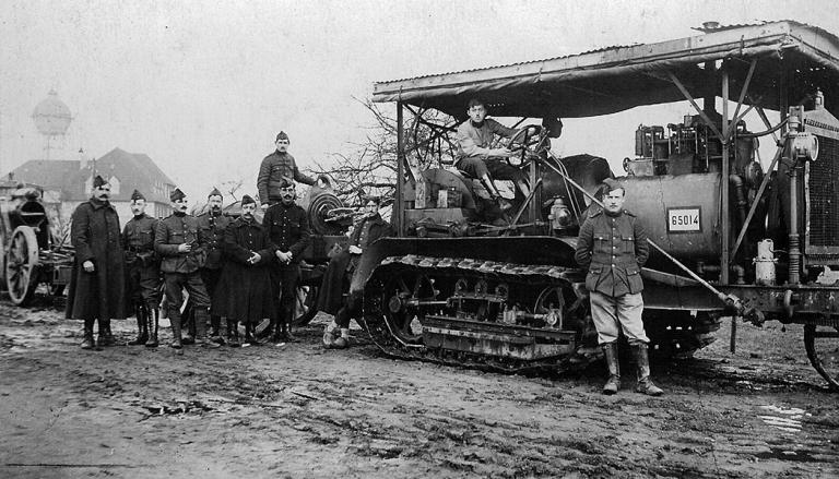 A 11-ton agricultural tractor of type 'Holt Caterpillar'