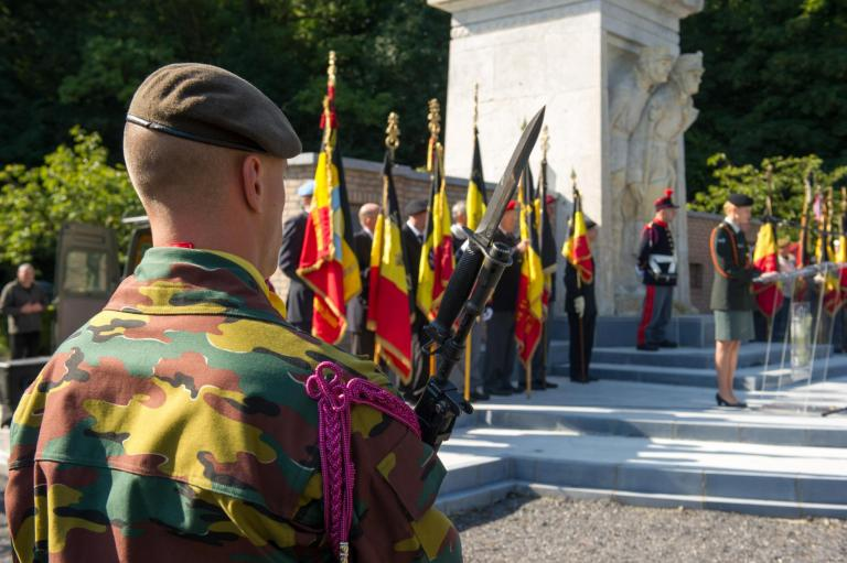 Commemoration on the military cemetery of Champion