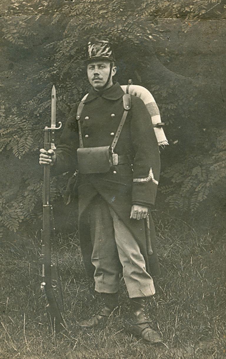 Infanterist anno 1914