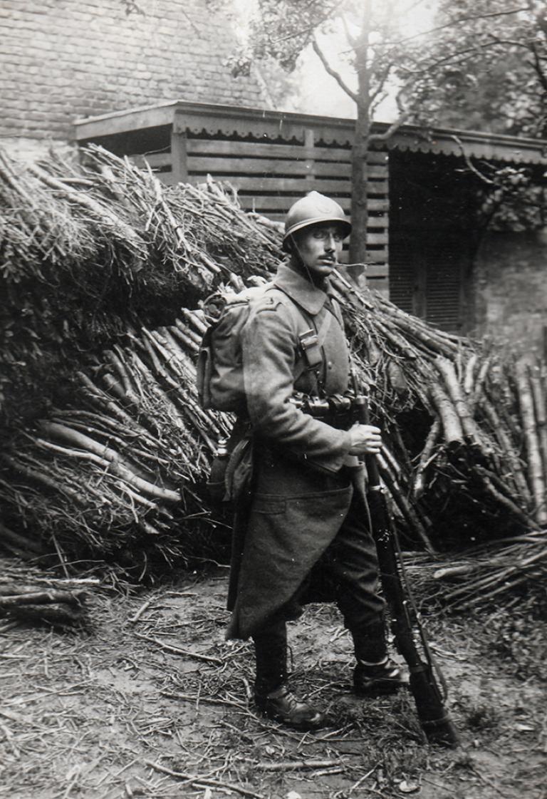 Infantry in 1918