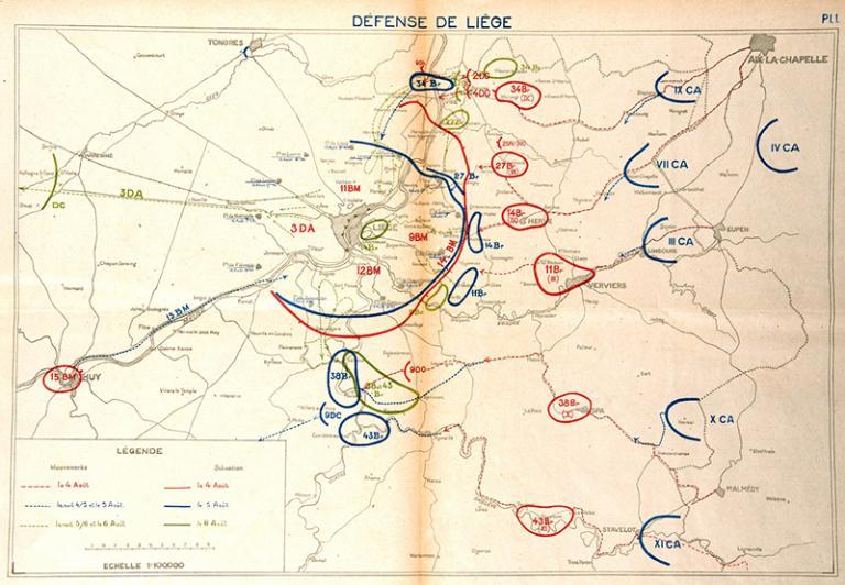 Kämpfe um Lüttich